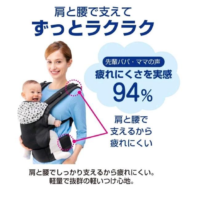 Aprica(アップリカ)のGRACO(グレコ)ルーポップ 抱っこひも おんぶひも キッズ/ベビー/マタニティの外出/移動用品(抱っこひも/おんぶひも)の商品写真