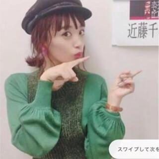 Ameri VINTAGE - 近藤千尋さん着用✨‼️AMERI❤️VARIOUS GAUGE KNIT