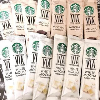 Starbucks Coffee - スターバックス ヴィア モカ &ホワイトモカ 計24本(※缶無し)