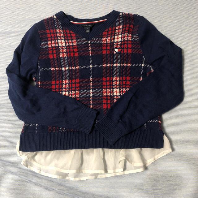 TOMMY HILFIGER(トミーヒルフィガー)のセーター キッズ/ベビー/マタニティのキッズ服女の子用(90cm~)(ニット)の商品写真