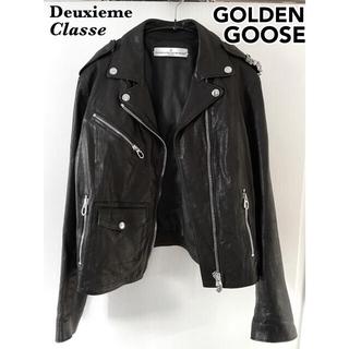 L'Appartement DEUXIEME CLASSE - ドゥーズィエムクラス GOLDEN GOOSE レザーライダースジャケット