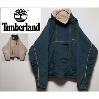ティンバーランド(Timberland)の520 TIMBER LAND L リバーシブル フリース マウンテンパーカー(マウンテンパーカー)