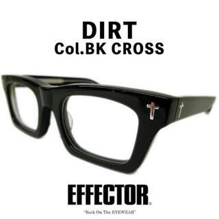 EFFECTOR - EFFECTOR だてめがね 宮川大輔着用モデル 黒ブチ ケース付き