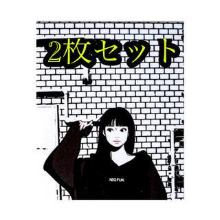 neofuk  Backside works.  新作ステッカー 2枚セット(しおり/ステッカー)