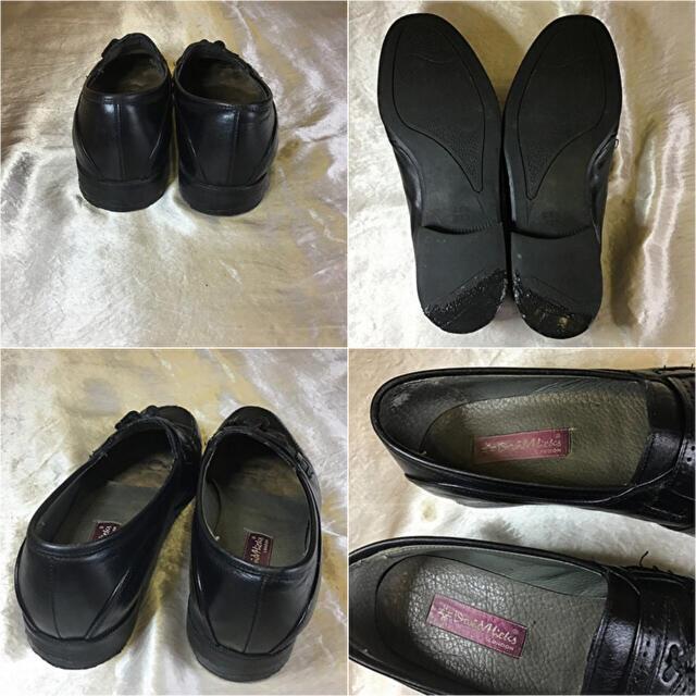 ノーブランド タッセルローファー26cm〜26.5cm相当 ブラック メンズの靴/シューズ(ドレス/ビジネス)の商品写真