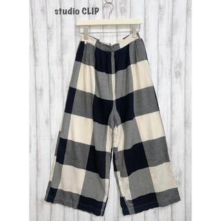 STUDIO CLIP - 【studio CLIP】チェックパンツ  スタディオクリップ