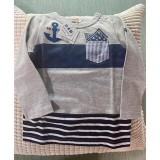 mikihouse - 新品!ミキハウス ロンT 長袖Tシャツ 90サイズ