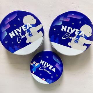 ニベア - ニベア ニベアクリーム 青缶 大缶2 中缶1セット 3セット