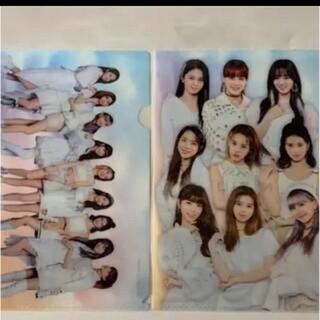 NiziU ニジュー クリアファイル 2枚 ローソン デビュー応援キャンペーン