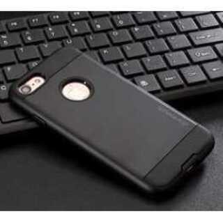 【送料無料】 iphone7用 メタル系 (ブラック)