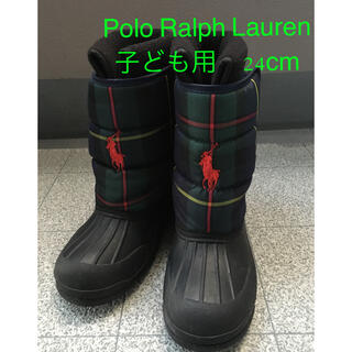 ポロラルフローレン(POLO RALPH LAUREN)のポロラルフローレン 子ども用スノーブーツ(長靴/レインシューズ)