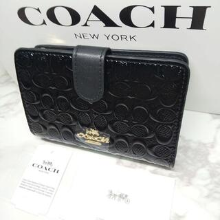 COACH - ★新品未使用★ 送料無料 コーチ COACH 二つ折り財布 F25937