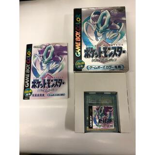 ゲームボーイ - ポケットモンスター クリスタルバージョン