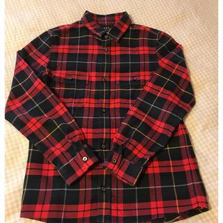 アーペーセー(A.P.C)の美品・クリーニング済/A.P.C チェックシャツ(シャツ)