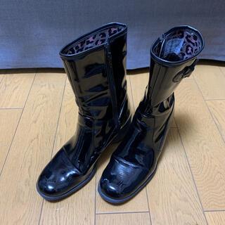 サヴァサヴァ(cavacava)のcavacava エナメルレインブーツ L(レインブーツ/長靴)