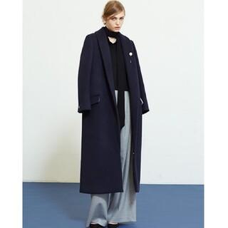 ルシェルブルー(LE CIEL BLEU)のルシェルブルー タキシードカラーコート コート ショールカラー チェスターコート(ロングコート)