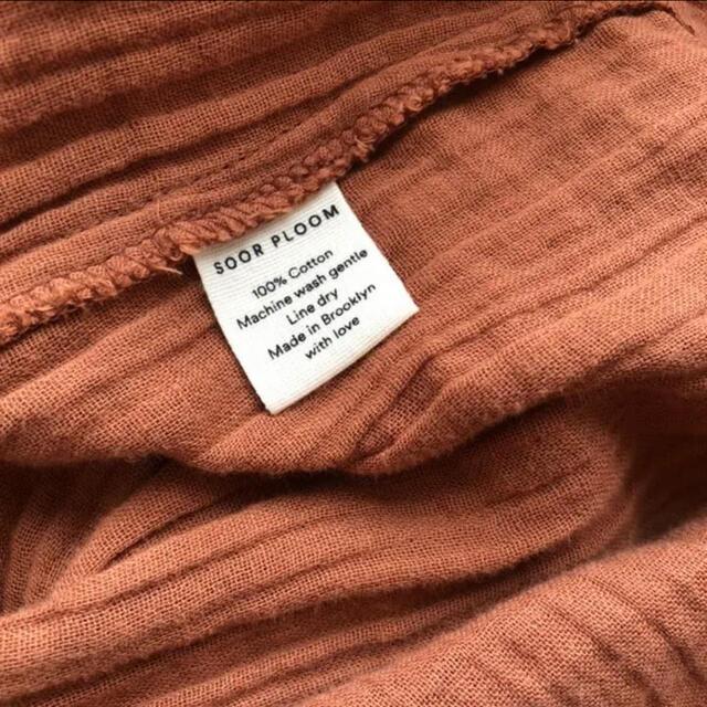 Caramel baby&child (キャラメルベビー&チャイルド)のsoor ploom clementine tunic 8-9Y キッズ/ベビー/マタニティのキッズ服女の子用(90cm~)(ブラウス)の商品写真
