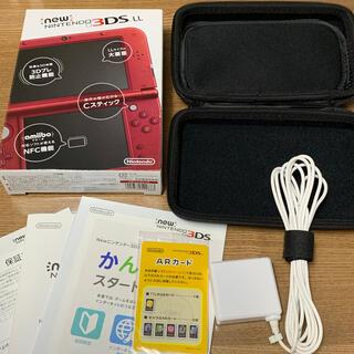 ニンテンドー3DS - NEW Nintendo 3DS LL  メタリックレッド 本体➕おまけつき