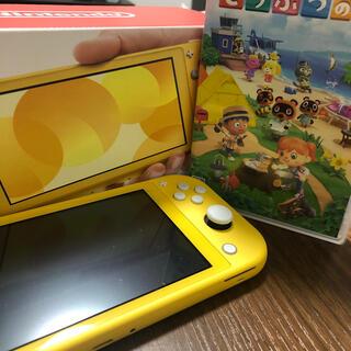 任天堂 - Nintendo Switch Lite イエロー本体&あつまれどうぶつの森