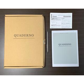 フジツウ(富士通)のクアデルノ A5  QUADERNO  A5 FMV-DPP04(その他)