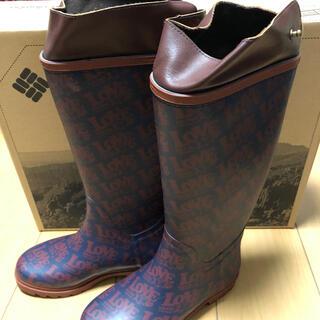 コロンビア(Columbia)のColumbia 6.5 23cm コロンビア  ハレイワ(レインブーツ/長靴)