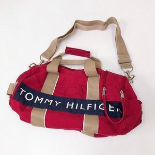 トミーヒルフィガー(TOMMY HILFIGER)のTOMMY HILFIGER♡定番ミニショルダー♡トミーヒルフィガーミニボストン(ショルダーバッグ)