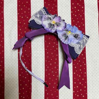 Angelic Pretty - HEXENHAUS Sugared Violet カチューシャ ヘキセンハウス