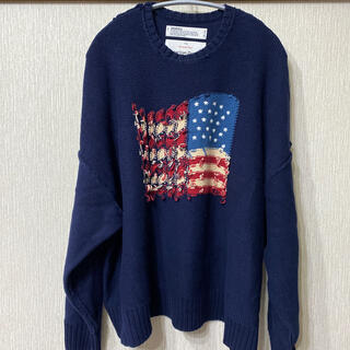 DAIRIKU Inside Out America knit