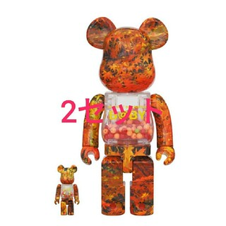 メディコムトイ(MEDICOM TOY)のMY FIRST BE@RBRICK B@BY AUTUMN LEAVES (その他)