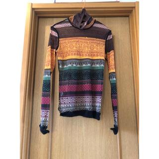 ジャンポールゴルチエ(Jean-Paul GAULTIER)のゴルチェ シースルー カットソー メンズ48 ゴルチエ (Tシャツ/カットソー(七分/長袖))