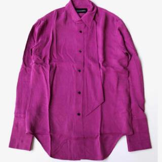 ジョンローレンスサリバン(JOHN LAWRENCE SULLIVAN)のピンク パープル シャツ 古着 上質(シャツ)