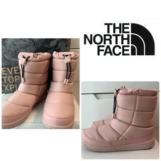 ザノースフェイス(THE NORTH FACE)の美品 ノースフェイス ヌプシ ブーツ ミスティローズ(ブーツ)