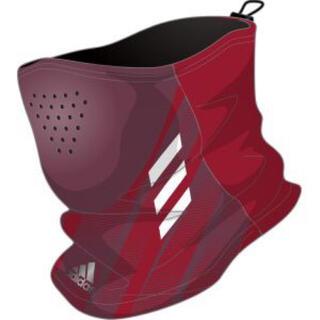 adidas - アディダス adidas ネックウォーマー ネックゲイター 赤