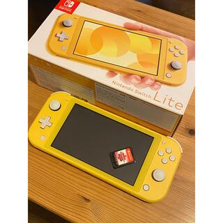 Nintendo Switch - ニンテンドーSwitchライトイエロー+ポケモンシールドソフトセット