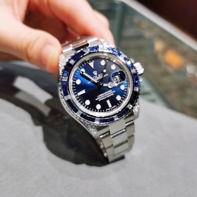 ROLEX(ロレックス)のROLEX サブマリーナ 116659仕様 ダイヤモンドカスタム 15年ギャラ メンズの時計(腕時計(アナログ))の商品写真