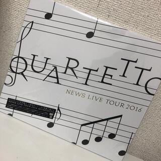 ジャニーズ(Johnny's)のNEWS LIVE TOUR 2016 QUARTETTO(初回盤) DVD(アイドルグッズ)