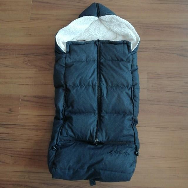AIRBUGGY(エアバギー)の《KO様専用》エアバギー防寒カバー ダウンフットマフ ベーシック キッズ/ベビー/マタニティの外出/移動用品(ベビーカー用アクセサリー)の商品写真