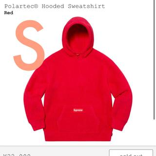 シュプリーム(Supreme)のSupreme polartec®︎Hooded Sweatshirt (パーカー)