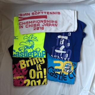 ミズノ(MIZUNO)のミズノ ヨネックス ソフトテニス  Tシャツ タオル 5点セット(ウェア)