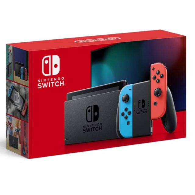Nintendo Switch(ニンテンドースイッチ)の任天堂 スイッチ 新品 Switch 本体 エンタメ/ホビーのゲームソフト/ゲーム機本体(家庭用ゲーム機本体)の商品写真