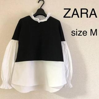 ZARA - ZARA トップス