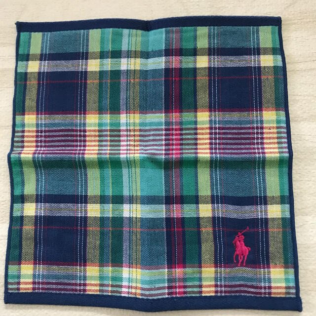 Ralph Lauren(ラルフローレン)の『ラルフローレン』 ハンカチ2枚セット メンズのファッション小物(ハンカチ/ポケットチーフ)の商品写真