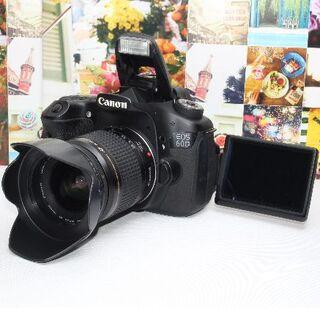 Canon - ❤️予備バッテリー&新品カメラバッグ付き❤️Canon EOS 60D❤️