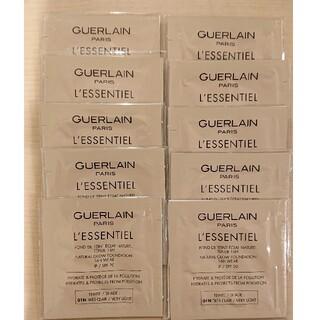ゲラン(GUERLAIN)のレソンシエル ファンデーションサンプルセット×10包(サンプル/トライアルキット)