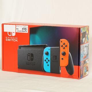 任天堂 - 任天堂Switch本体 新品未開封 ブルー/レッド 店舗保証付き