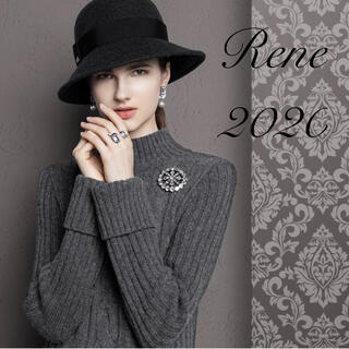 René - Rene♡ 今期最新2020AW人気完売ケーブルニットワンピース