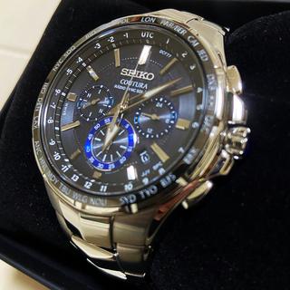 セイコー(SEIKO)のSEIKO コーチュラ 電波ソーラー クロノグラフ(腕時計(アナログ))