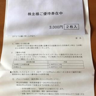 グローバルWiFi利用券(その他)