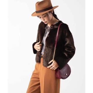 アナイ(ANAYI)のANAYI ¥49,500 エコミンクファーリバーシブルジャケットコート(毛皮/ファーコート)