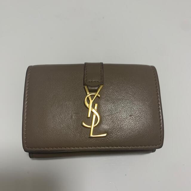 Saint Laurent(サンローラン)のysl ミニウォレット レディースのファッション小物(財布)の商品写真
